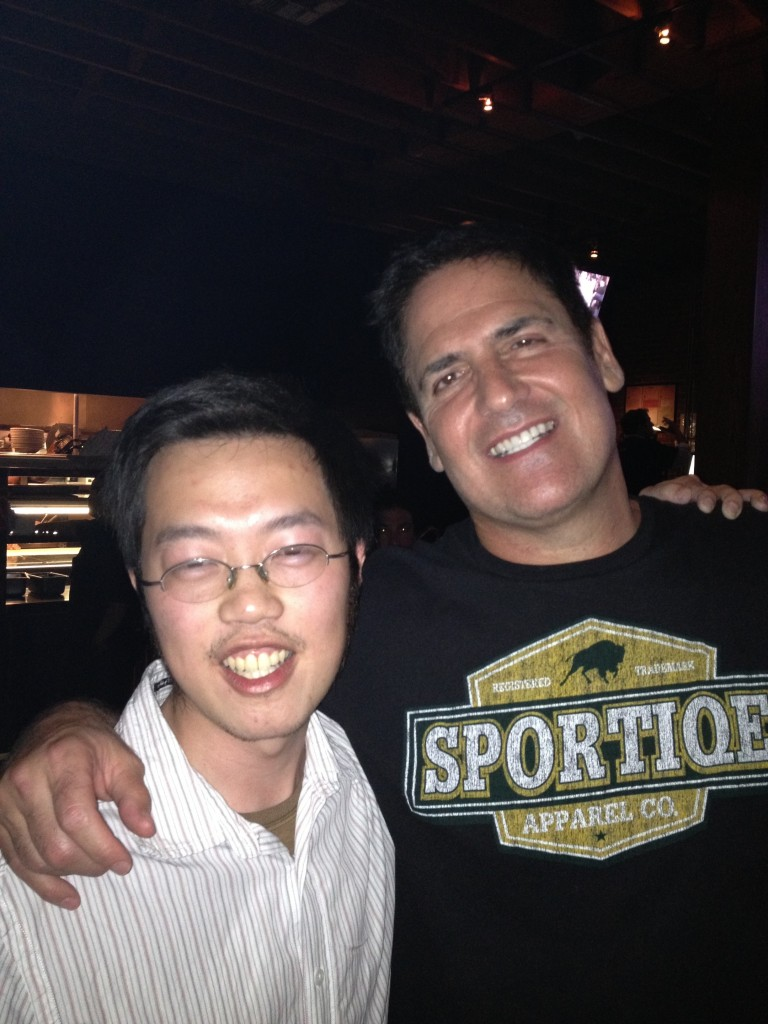 Me and Mark Cuban
