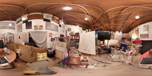 Rachel Rubenstein's Santa Monica Studio